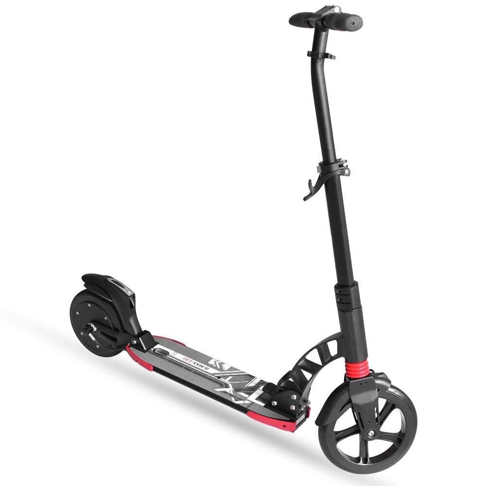8 pouces iScooter trottinette électrique Intelligent Pliant Électrique longboard Hoverboard Planche À Roulettes 2 Roues Livraison gratuite - 3