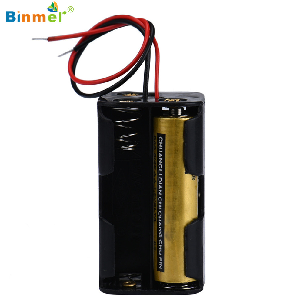 Binmer Superior Quality 2016 Hot 2 Slot 4 X AA Battery