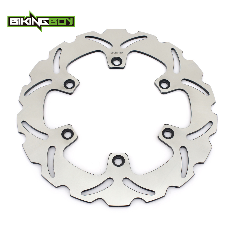 BIKINGBOY Front Brake Disc Rotor Disk For Honda CB 500 1993-2003 CBF 500 04-08 VT 750 Shadow 97-09 / Black Wodow 01-05 XRV 650