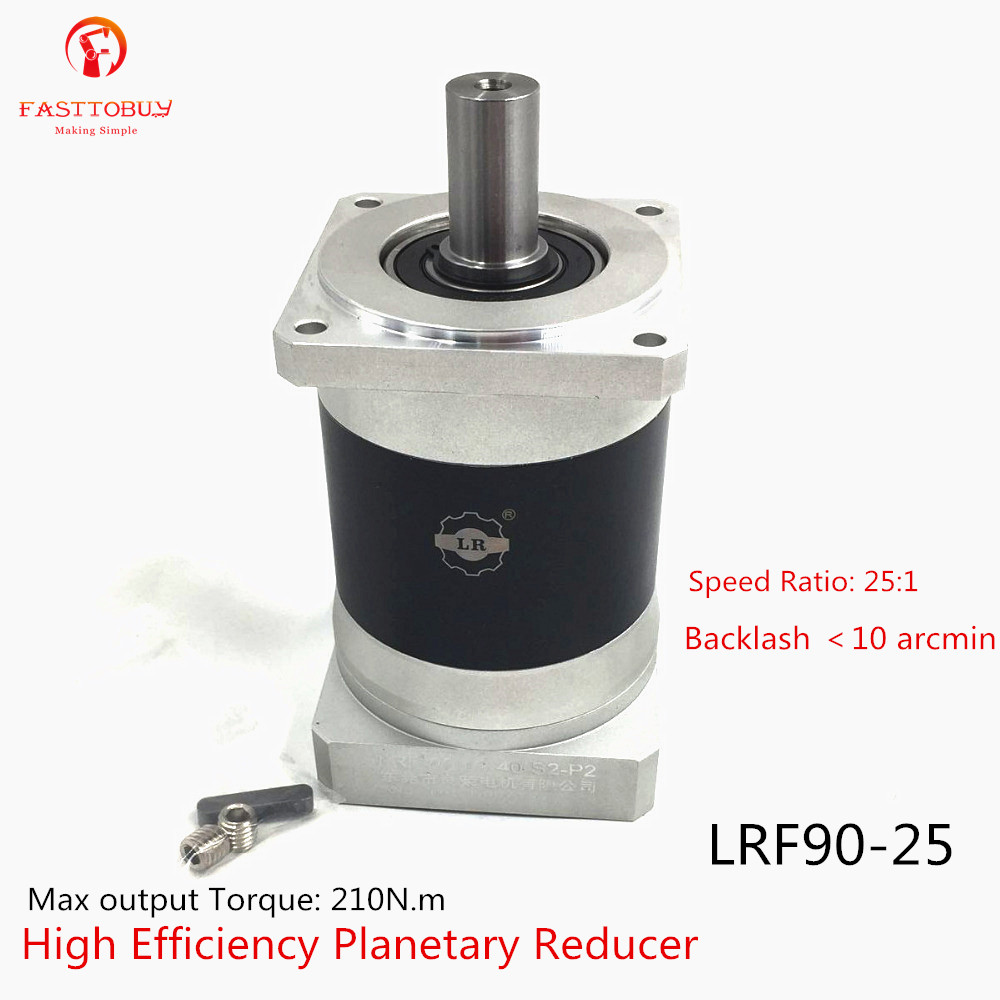 Arcmin <10 High Precision 80mm Speed Reducer Ratio 25:1 Planetary Reducer LRF90-25 For NEMA32 Servo Motor цены онлайн
