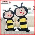 Niño caliente abejas escarabajos coche del cinturón de seguridad de la cubierta niños bebés niños adultos cinturón de seguridad pad almohada reposacabezas juguetes para niñas