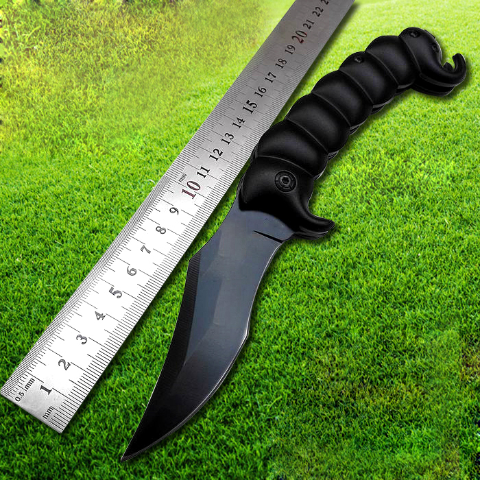 2017 New Black Non-ship X2098 Folding Knife Hunting Survival Knives Tactical Knife Outdoors Camping EDC Tools
