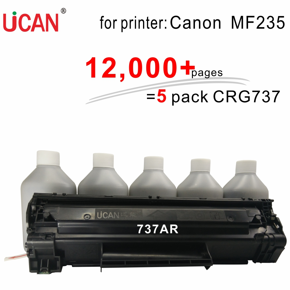 for Canon MF235 Printer Cartridge 737  337 137 UCAN 737AR(kit) 12,000 pages canon mf 4320 минск