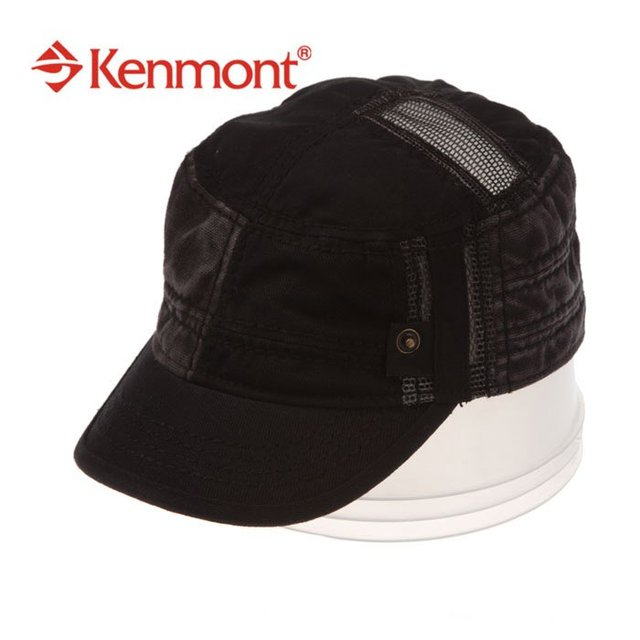 Free Shipping Cap Snapback Kenmont Baseball Caps Fashion Men Polyester Cotton Adjustable Size Black Hat Sport Sun Hats B-315-01