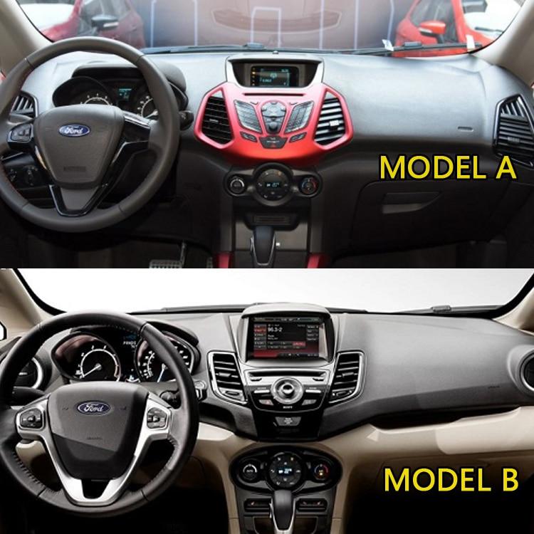GIVELUCKY Per Ford EcoSport 2013 2014 2015 2016 2017 Car Dashboard Car Dashboard Cover///Dash Mat Dash Mat Carpet