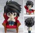 """Бесплатная Доставка Симпатичные 4 """"Nendoroid Death Note Аниме L Штучной Упаковке ПВХ Фигурку Colletion Модель Игрушки Куклы Ребенок Подарок #17"""
