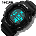 BOZLUN ST03 MEN New Sports Watches Men Digital Wristwatches With LED Display Chronograph Alarm Multi-function Relogio Masculino