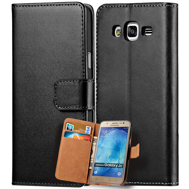 outlet store 2d2b1 fe0f8 US $4.91 |PU Leather Case For Samsung Galaxy J5 2015 J500 Cover Luxury  Wallet Flip Phone Bag Card Holder Coque For Samsung Galaxy J5-in Wallet  Cases ...