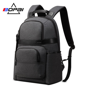 BOPAI Backpack Men Anti theft Business Backpack for 15.6inch Laptop Backpack Multifunction Back Pack School Backpack Breathable