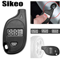 Diagnose-tool 2-150PSI Diagnostic Tool Digitale LCD Display Sleutelhanger Band Lucht Voertuig Motorfiets Auto-detector Manometer
