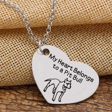 Heart Pendant Dog Memorial Pet Necklaces & Pendants For Women