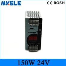 150w 24v 6 25a Mini size ac dc Switching power supply Din Rail power supply