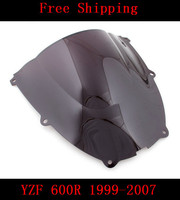 For Yamaha YZF600 YZF 600R YZF R6 1999 2007 99 07 R6 Motorcycle Double Bubble Windshield