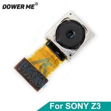 Dower me 후면 메인 카메라 소니 xperia z3 d6603 d6653 d6633 듀얼 빅 카메라 플렉스 케이블 교체 부품 20.7mp