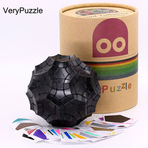 Image 5 - Puzzle Magic Cube VeryPuzzle 32 axis Concave Speed Tuttminx strange shape cube professional educational logic twist game cubo