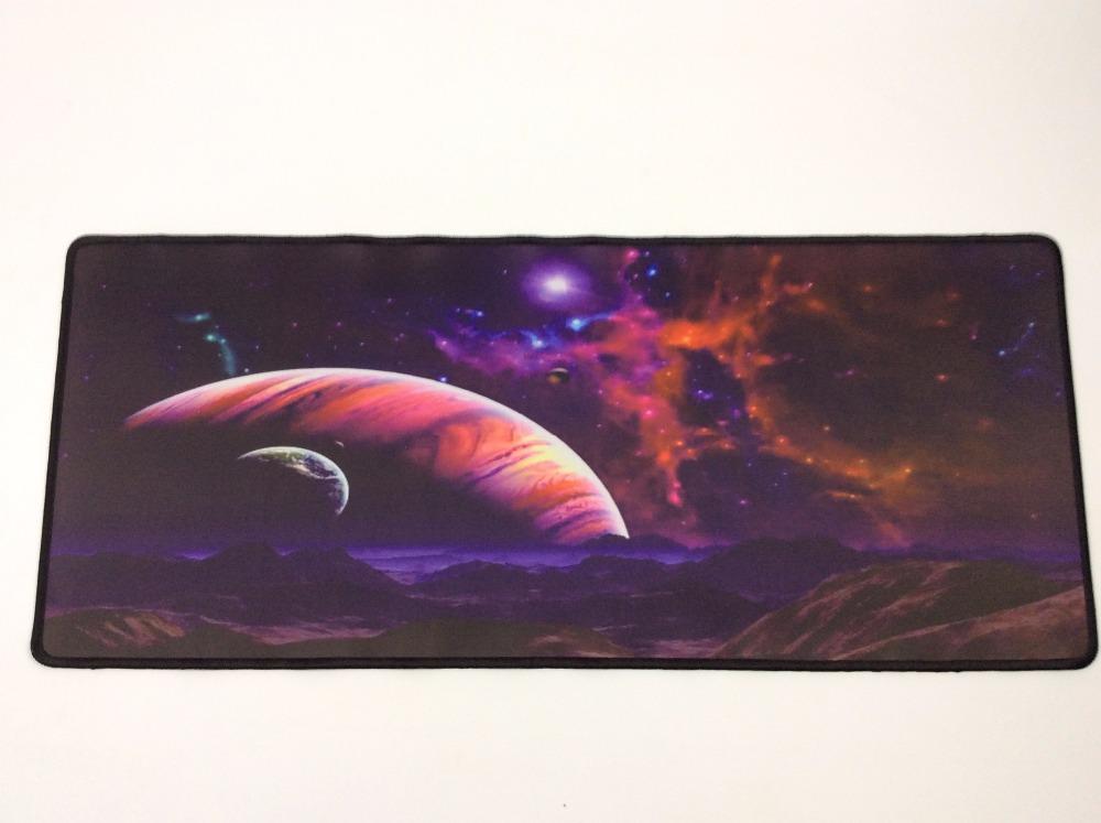 Mairuige Earth Planet Big Size Speed Keyboard Mouse Pad Rubber Mat Computer Gaming Mousepad Gamer for Large Size Table Mouse Mat in Mouse Pads from Computer Office