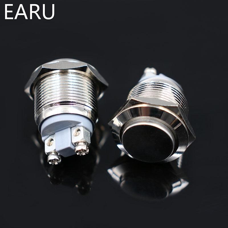 HTB1JNdUaxSYBuNjSspjq6x73VXaJ - 19mm Doorbell Bell Horn Push Button Switch Momentary Reset 1NO Waterproof Metal Brass Screw Feet Car Auto Engine PC Power Start