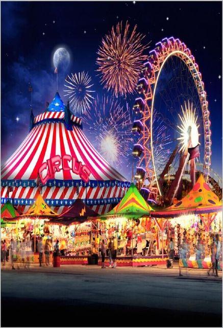 5x7FT Circus Tent Funf...