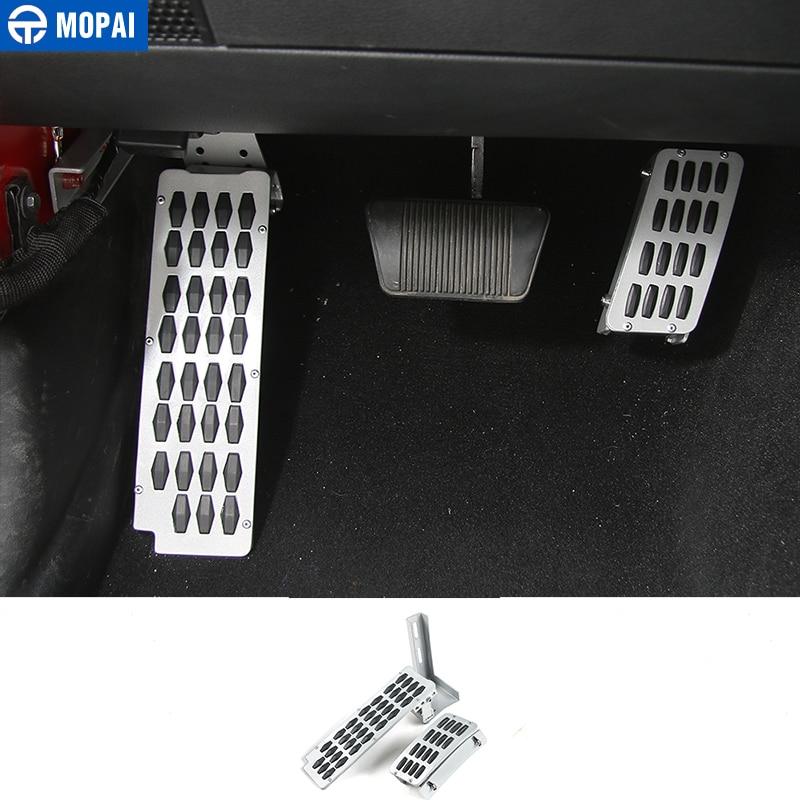 MOPAI A Set Kit Heighten Gas Brake Foot Rest Pedals Car