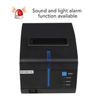 Issyzonep Thermal Receipt Printer 80mm POS Printer 3 Inch USB Serial Ethernet Cash Drawer IAP Windows Mac Driver Printer Hang Up
