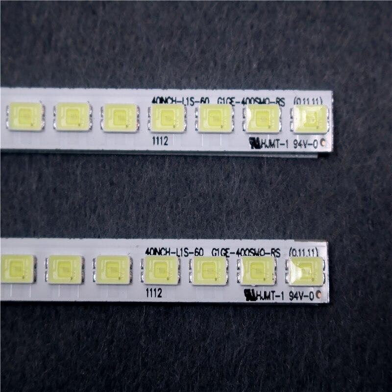 Для TCL L40F3200B, артикул, лампа, LJ64-03029A 2011SGS40 5630 60 H1 REV1.1 1 шт. = 60 светодиодов 455 мм