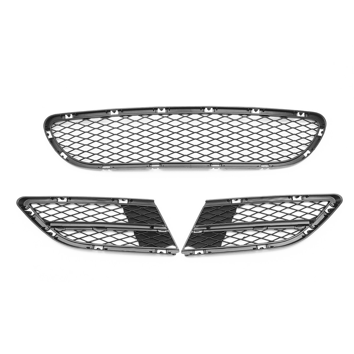Front Bumper Vents Front Lower Grille Grill Net Fit For BMW 3 Series E90 E91 325i 328i 335i
