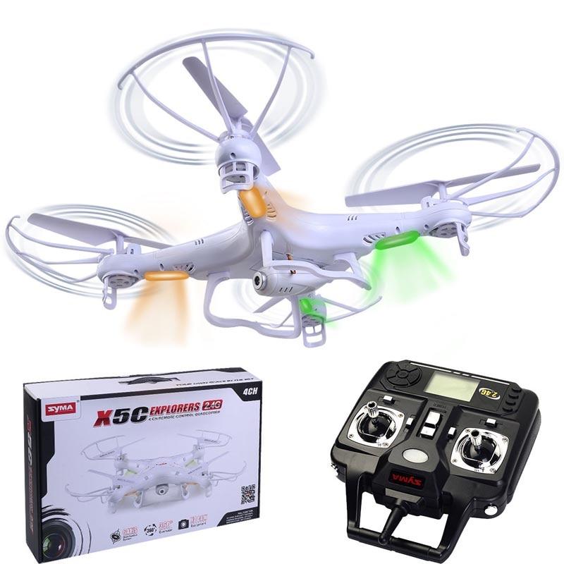 ФОТО new syma x5c explorers 2.4g 4ch 6-axis gyro rc quadcopter with hd camera rtf new