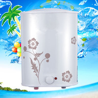 Electric Small Tank Storage Water Heater For Household Bathroom Hot Water Shower Vertical Type 6L