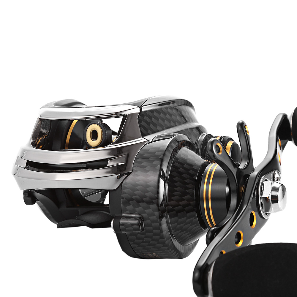 Fishdrops LB200 18 Ball Bearings GT7.0:1 Fishing Reel Baitcasting Reels Carp Fishing Left Right Hand Baitcasting Fishing Brazil