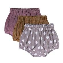 Новое поступление года; шорты-шаровары для новорожденных мальчиков брюки на подгузник вельветовые От 0 до 5 лет шорты с треугольным узором в горошек брюки для малышей