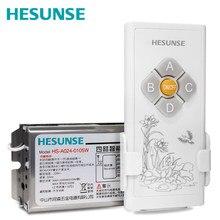 купить Free shipping New Hesunse fuse tube 433mhz  1-4 ways Remote Control  Switch apply to LED по цене 819.01 рублей