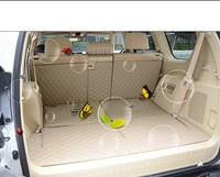 Full Covered Customized Waterproof Carpets Odor Non Slip Rugs Easy Clean Car Floor Mats For Landcruiser