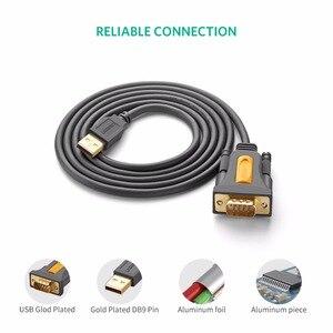 Image 5 - Ugreen USB vers RS232 Port COM Série PDA 9 DB9 Pin Câble Adaptateur Prolific pl2303 pour Windows 7 8.1 XP Vista Mac OS USB RS232 COM