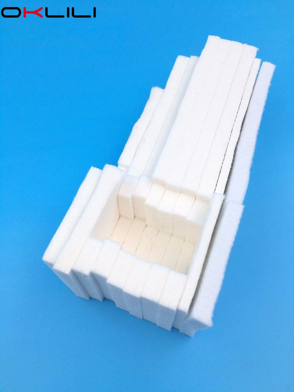 1PC tacy porowate Pad pojemnik na zużyty tusz gąbka do projektora Epson ET-4500 L550 L551 L555 L558 L565 L575 L566 M200 M100 M105 M205 WF2010 WF2510