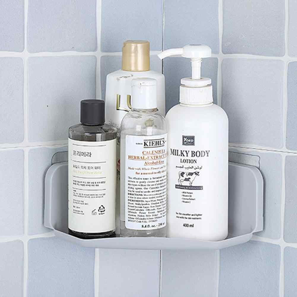 3 kolory przyssawka rogu półka po prysznic łazienka szampon półka po prysznic uchwyt kuchnia stojak do przechowywania organizator