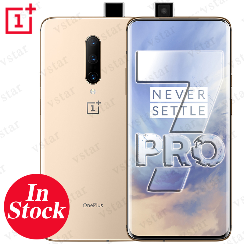 Global ROM Original Oneplus 7 PRO 6 67 inch Smartphone Android 9 Snapdragon 855 Octa Core