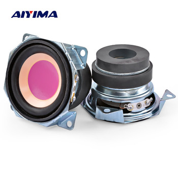 AIYIMA-Altavoz Mini portátil de 2 pulgadas, dispositivo de Audio de 4 Ohm...