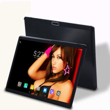 2018 Global 10.1 inch 3G/4G LTE tablet pc RAM 4GB  ROM 64GB Android 7.0 octa core 1280*800 IPS tablets pcs 10 10.1 free shipping