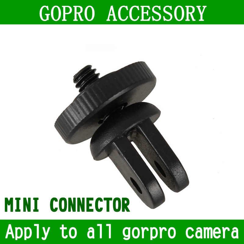 KingMa Mini adaptador de montaje de trípode/tornillo adaptador para Gopro Hero ventosa Hero 2 Hero 3 SJ4000 accesorios de cámara envío Gratis
