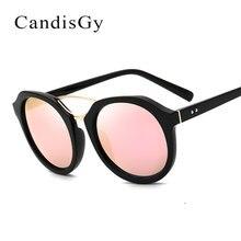 Espejo gafas de Sol de Las Mujeres 2017 Nuevo Diseñador de la Marca Marco Grande Gafas de Sol Pink Lady Fashion Shades UV400