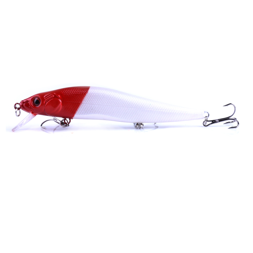 14cm 23g Wobbler Fishing Lure Big Crankbait Minnow Peche Bass Trolling Artificial Bait Pike Carp Lures Winter Fishing in Fishing Lures from Sports Entertainment