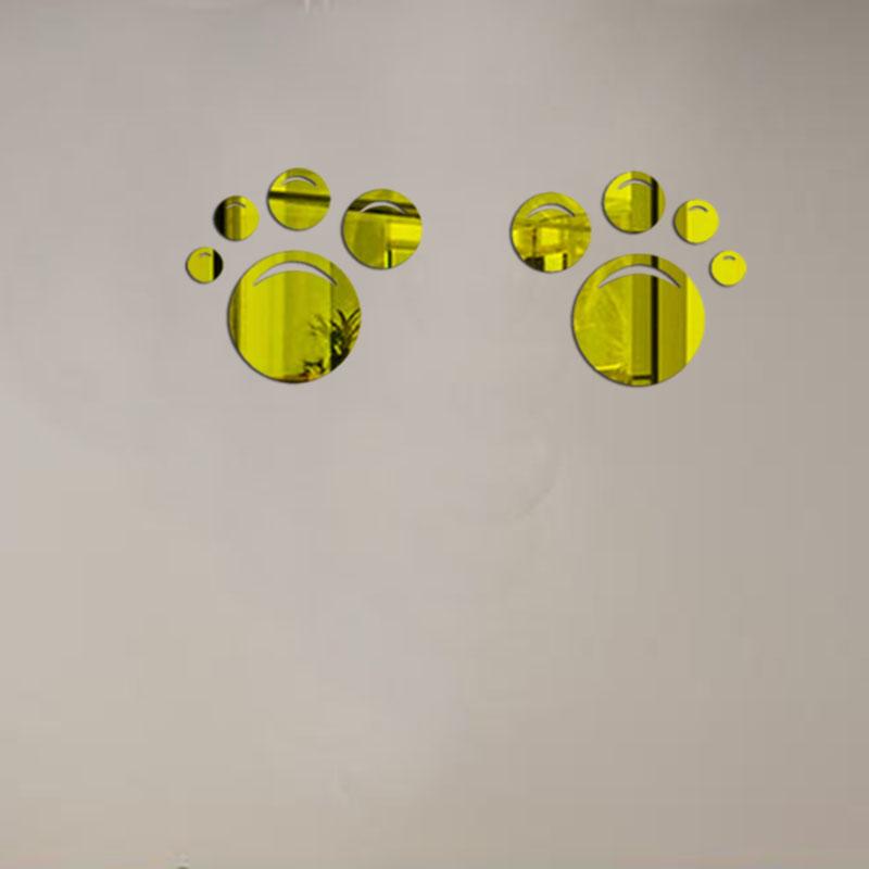 unidsset amor d espejo pegatinas de pared para tiendas de decoracin del hogar