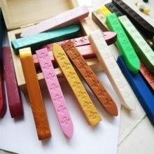 Перламутровые белые розовые уплотнительные восковые палочки ретро печать, штемпели для букв свадебные приглашения 90*10*10 мм винтажный шнур фитиль винтажное уплотнение