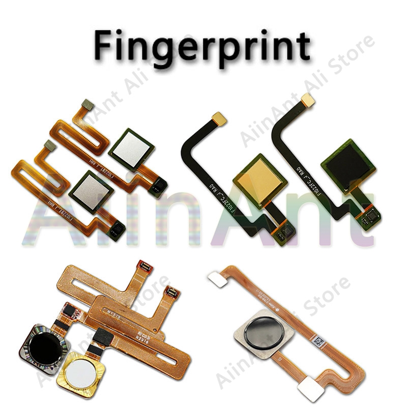 For Xiaomi Max 2 Mi Mix 2 Original Home Key Fingerprint Return Button Sensor Flex Ribbon Cable Mobile Phone Parts ...