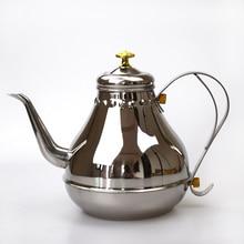 купить 1.2L 1.8LStainless Steel Coffee Pot Mocha Espresso Latte Percolator Stove Coffee Maker Pot Percolator Drink Tool Cafetiere Latte по цене 1468.71 рублей