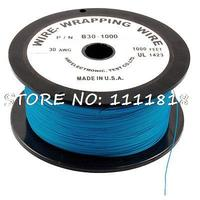 305M 30AWG Tin Plated Copper Wire Insulation Electronic Test Cable Roll Blue