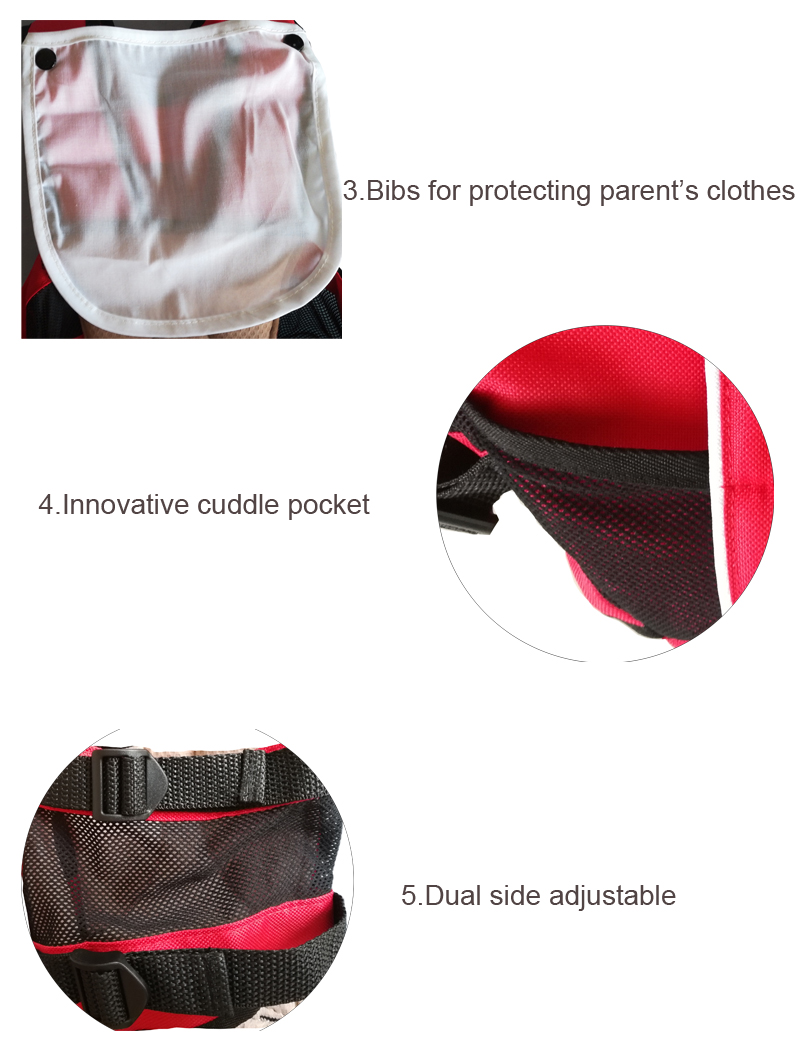 Kangaroo Baby Bag Pouch Sling Hip Ergonomic Baby Carrier 7