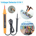 Multifunctional test pencil Voltage Detector 8 IN 1 Inductance tester Pen clip design easy to carry