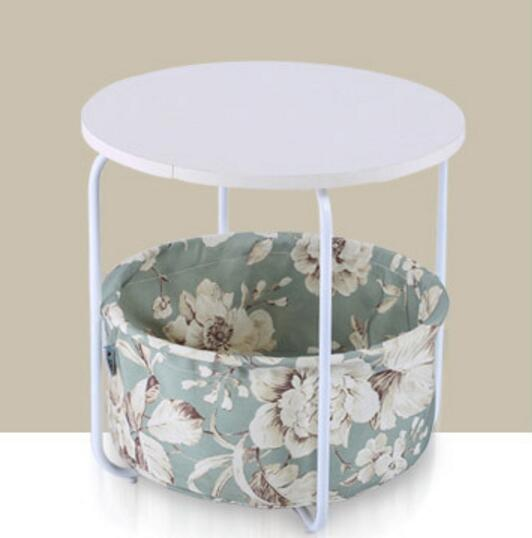42*43cm Round Coffee Tables Multi-functional storage side table tea table coffee table