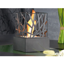 Metal Crafts Bio- Ethanol Table Top Fireplace Home Decoration Fences Design KW2306